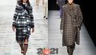 Модные клетчатые модели пальто для базового гардероба зимы 2020-2021