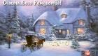 Картинка на Рождество 2021 - пейзаж