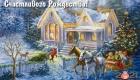 Картинка с пейзажем на Рождество 2021 года