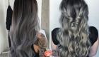 Мелирование омбре на черные волосы на 2021 год