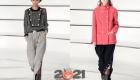 Модные брюки Шанель осень-зима 2020-2021