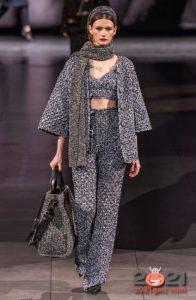 Модные брюки Dolce & Gabbana осень-зима 2020-2021