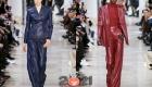 Модные кожаные брюки сезона осень-зима 2020-2021