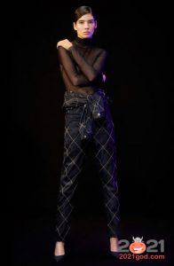 Модные клетчатые джинсы на 2021 год