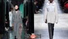 Красивые узкие брюки зимы 2020-2021