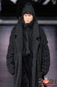 Вязаные шапки сезона осень-зима 2020-2021 - тренды мужской моды