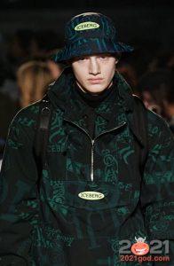 Мужская шляпа с принтом на 2021 год