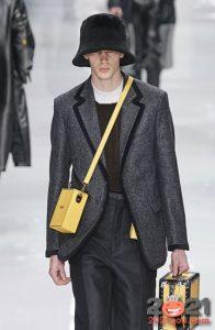 Мужская меховая шляпа на 2021 год