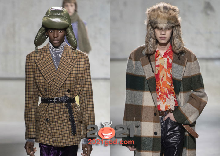 Шапки ушанки осень-зима 2020-2021 мужская мода