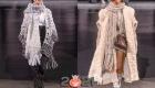 Вязаные шарфы Dolce & Gabbana осень-зима 2020-2021