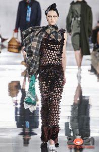 Асимметричный шарф осень-зима 2020-2021
