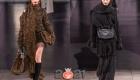 Объемные шарфы коллекции Dolce & Gabbana осень-зима 2020-2021