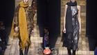Объемные шарфы коллекции Michael Kors осень-зима 2020-2021
