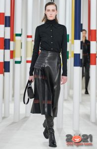 Модная асимметричная юбка сезона осень-зима 2020-2021