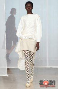 Асимметричная юбка на 2021 год