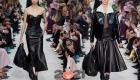 Черная кожаная юбка на 2021 год
