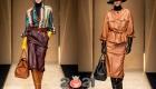 Цветные кожаные юбки на 2021 год