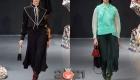 Легкие юбки-плиссе на зиму 2021 года