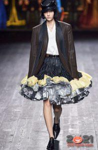Объемная юбка с оборками на 2021 год