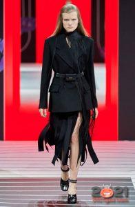 Юбки Prada с полосами на 2021 год