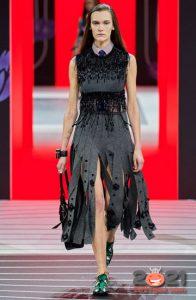Красивые юбки Prada на зиму 2020-2021