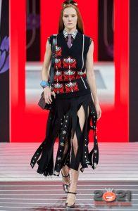 Юбки модного дома Prada на зиму 2020-2021