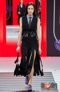 Prada осень-зима 2020-2021 - модные юбки
