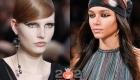 Модный макияж глаз со стрелками осень-зима 2020-2021
