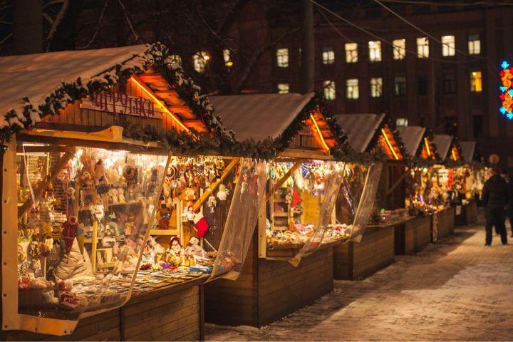 Рождественская ярмарка в Сокольниках