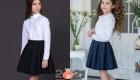 Модные пышные юбки в школу на 2020-2021 год