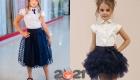 Модные фатиновые юбки для школьниц на 2020-2021 год