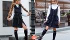 Сарафан - модный тренд школьной моды на 2020-2021 год