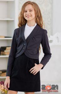 Модное болеро для школьниц на 2021 год