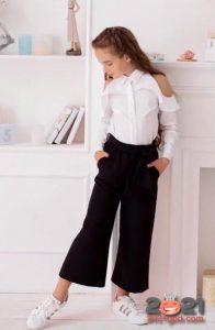 Школьная мода для девочек в 2020-2021 учебном году