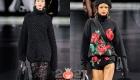 Модные черные свитера осень-зима 2020-2021