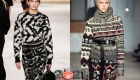 Модные свитера с рисунком осень-зима 2020-2021