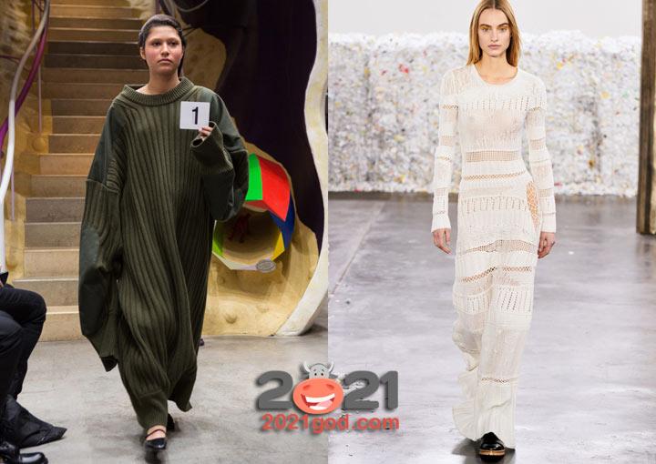Модели трендовых платьев осень-зима 2020-2021