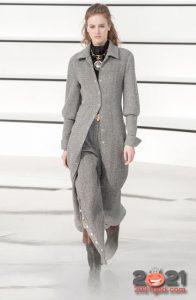Брючный костюм - вязаная мода зимы 2020-2021