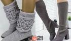 Модная вязаная обувь на 2021 год