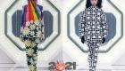 Модные цветные пуховики Moncler зимы 2020-2021
