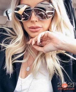 Модные зеркальные очки на 2021 год