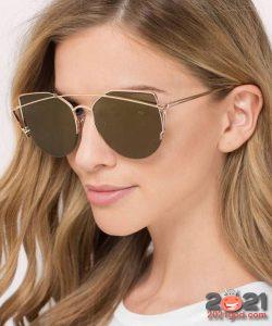 Матовые очки металлик - зима 2020-2021