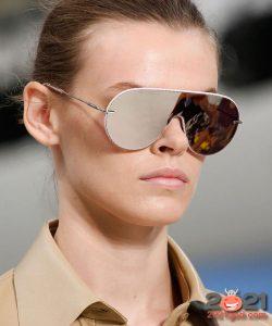 Модные зеркальные очки на зиму 2020-2021