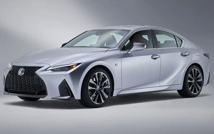 Технические характеристики Lexus IS 2021