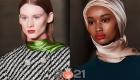 Атласный платок - модный аксессуар 2021 года