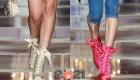 Модные ботильоны на платформе - модели на 2021 год
