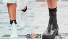 Модные ботильоны без каблука на зиму 2020-2021 года