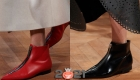 Модные ботильоны с узким носком и без каблука на зиму 2020-2021 года
