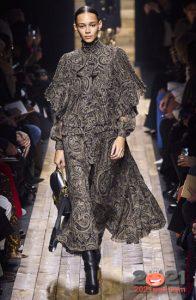 Модный принт пейсли - мода зимы 2020-2021
