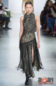 Модный принт восточный огурец - мода зимы 2020-2021